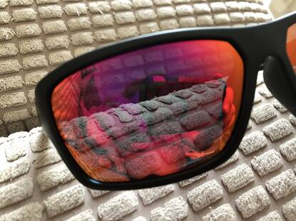 User supplied image of Dirty Dog Glasses Storm Mirror