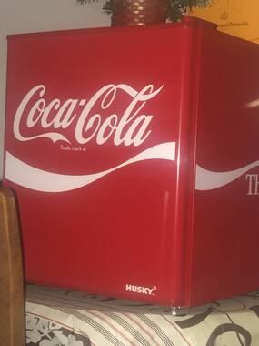Buy Husky Coca Cola Hus El207 Mini Fridge Red Free