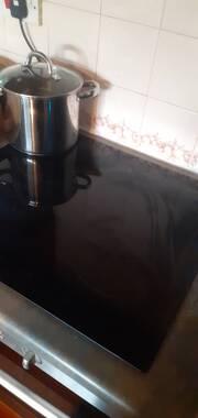 User supplied image of Indesit VID 641 B C Electric Induction Hob - Black