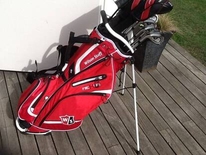 User supplied image of Wilson Staff NexusIII CarryBag
