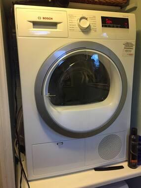 bosch serie 8 tumble dryer manual
