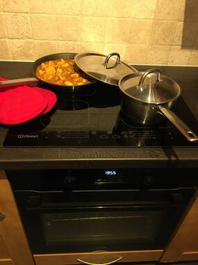 User supplied image of Induction glass-ceramic hob