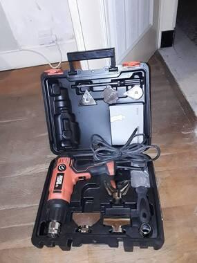 L'utilisateur a fourni une image de Décapeur thermique 2000W + 8 accessoires