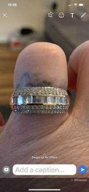 User supplied image of Diamond 9K Y Gold Ring  1.000  Ct.