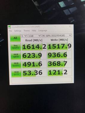 Intel 660p Series 1TB M 2 NVMe SSD